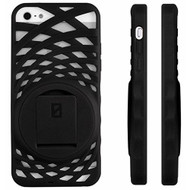 iPhone 5 5S SE Vortex Stand Case By Zerochroma Black Cover Fitted - EE689768