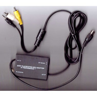 PlayStation 1 RFU Adaptor Black P-055 - EE689786