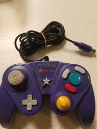 Nyko Star Pad Controller For GameCube Purple NZB418 - EE689808