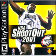 NBA Shootout 2001 For PlayStation 1 PS1 Basketball - EE689814
