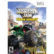 Monster Jam Urban Assault For For Wii Racing With Manual and Case - EE689847