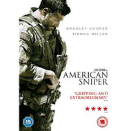 American Sniper DVD 2014 On DVD With Bradley Cooper - EE689941