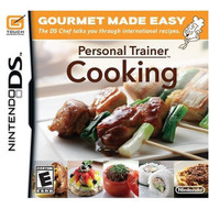 Personal Trainer: Cooking For Nintendo DS DSi 3DS 2DS With Manual and - EE690095