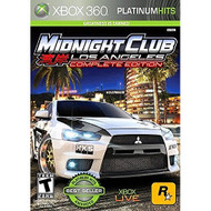 Midnight Club: Los Angeles Platinum Hits For Xbox 360 Fighting - EE690110