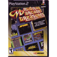 Midway Arcade Treasures For PlayStation 2 PS2 With Manual and Case - EE690413