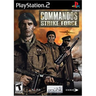 Commandos Strike Force For PlayStation 2 PS2 With Manual and Case - EE690432