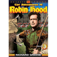 Adventures Of Robin Hood Volume 3 On DVD with Richard Greene - EE690441