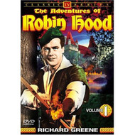 Adventures Of Robin Hood Volume 1 On DVD With Richard Greene - EE690440