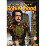The Adventures Of Robin Hood Vol 8 On DVD With Richard Greene - EE690448