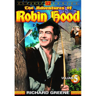 Adventures Of Robin Hood Volume 5 On DVD With Richard Greene - EE690444