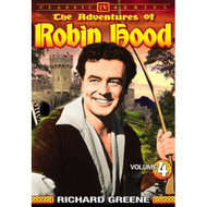 Adventures Of Robin Hood Volume 4 On DVD with Richard Greene - EE690442