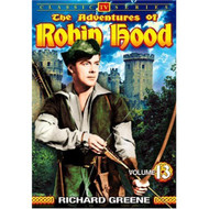 The Adventures Of Robin Hood Vol 13 On DVD - EE690455