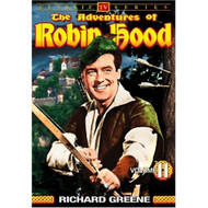 The Adventures Of Robin Hood Vol 11 On DVD With Richard Greene - EE690453