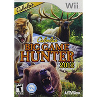 Cabela's Big Game Hunter 2012 SAS For Wii Shooter With Manual and Case - EE691250