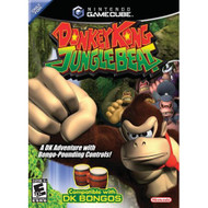 Donkey Kong Jungle Beat Game For GameCube With Manual and Case - EE691258