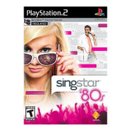 Singstar 80S Software Only For PlayStation 2 PS2 With Manual and Case - EE691362