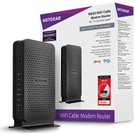 Netgear N600 8X4 Wifi Docsis 3.0 Cable Modem Router C3700 Certified - EE690626