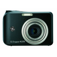 GE A1255 12 MP Digital Camera With 5X Optical Zoom And 2.7-inch LCD - EE691492