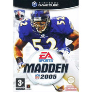 Madden NFL 2005 For GameCube Football With Manual and Case - EE691702