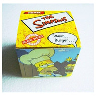 """Official Simpsons LCD Talking Watch Homer Simpson MMMBURGER""""-2002 - EE691739"""
