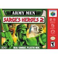Army Men Sarge's Heroes 2 For N64 Nintendo - EE691913
