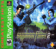 Syphon Filter 2 For PlayStation 1 PS1 Arcade With Manual and Case - EE692016