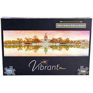 Vibrant Jigsaw Puzzle 750 Pieces United States Capitol Building Toy - EE692143