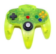 Nintendo 64 Controller: Limited Edition Extreme Green For N64 Remote - EE692177