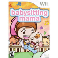 Babysitting Mama For Wii With Manual and Case - EE692217