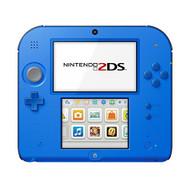 Nintendo 2DS Electric Blue With Mario Kart 7 Handheld - EE692258