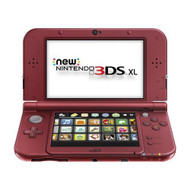 Nintendo New Model 3DS XL Red By Nintendo - ZZ692765