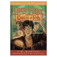 Harry Potter And The Goblet Of Fire Book 4 By Jk Rowling Jim Dale - EE692850