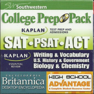 College Prep Pack: Sat Psat Act: Writing And Vocabulary US History And - EE692983