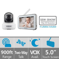SEW-3043W Samsung Wisenet Brightview HD Baby Video Monitoring System - EE692984