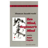 Zen Mind Beginner's Mind By Shunryu Suzuki-Roshi Peter Coyote Reader - EE693016