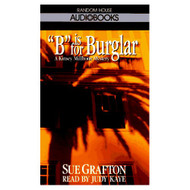 B Is For Burglar Sue Grafton By Grafton Sue Kaye Judy Reader On Audio - EE693066
