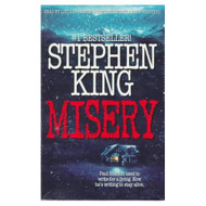 Misery By King Stephen Crouse Lindsay Reader On Audio Cassette - EE693153
