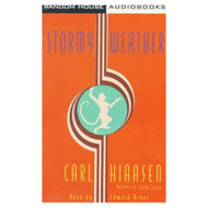 Stormy Weather By Carl Hiaasen Edward Asner Reader On Audio Cassette - EE693197