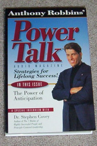 Anthony Robbins Power Talk! The Power Of Anticipation Interview With - EE693245
