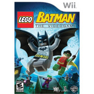 Lego Batman For Wii With Manual and Case - EE693302