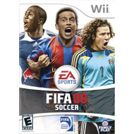 FIFA 08 For Wii Soccer With Manual and Case - EE693325