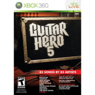 Guitar Hero 5 Game Only For Xbox 360 Music - EE693583