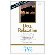 Deep Relaxation Love Tapes By Robert Griswold On Audio Cassette - EE693718