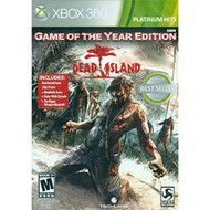 Dead Island: Game Of The Year Edition Xbox 360 For Xbox 360 Shooter - EE693878