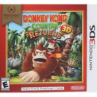 Nintendo Selects: Donkey Kong Country Returns 3D For 3DS With Manual - EE694003