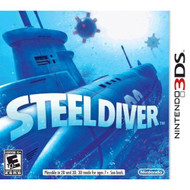 Steel Diver Nintendo For 3DS With Manual and Case - EE694004