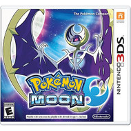 Pokemon Moon Nintendo For 3DS RPG With Manual and Case - EE694006