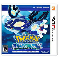 Pokemon Alpha Sapphire Nintendo For 3DS RPG With Manual and Case - EE694008