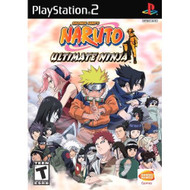 Naruto: Ultimate Ninja For PlayStation 2 PS2 Fighting - EE694012