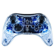 Afterglow Pro Controller For Wii U Clear 085-018-NA-BL - EE694093